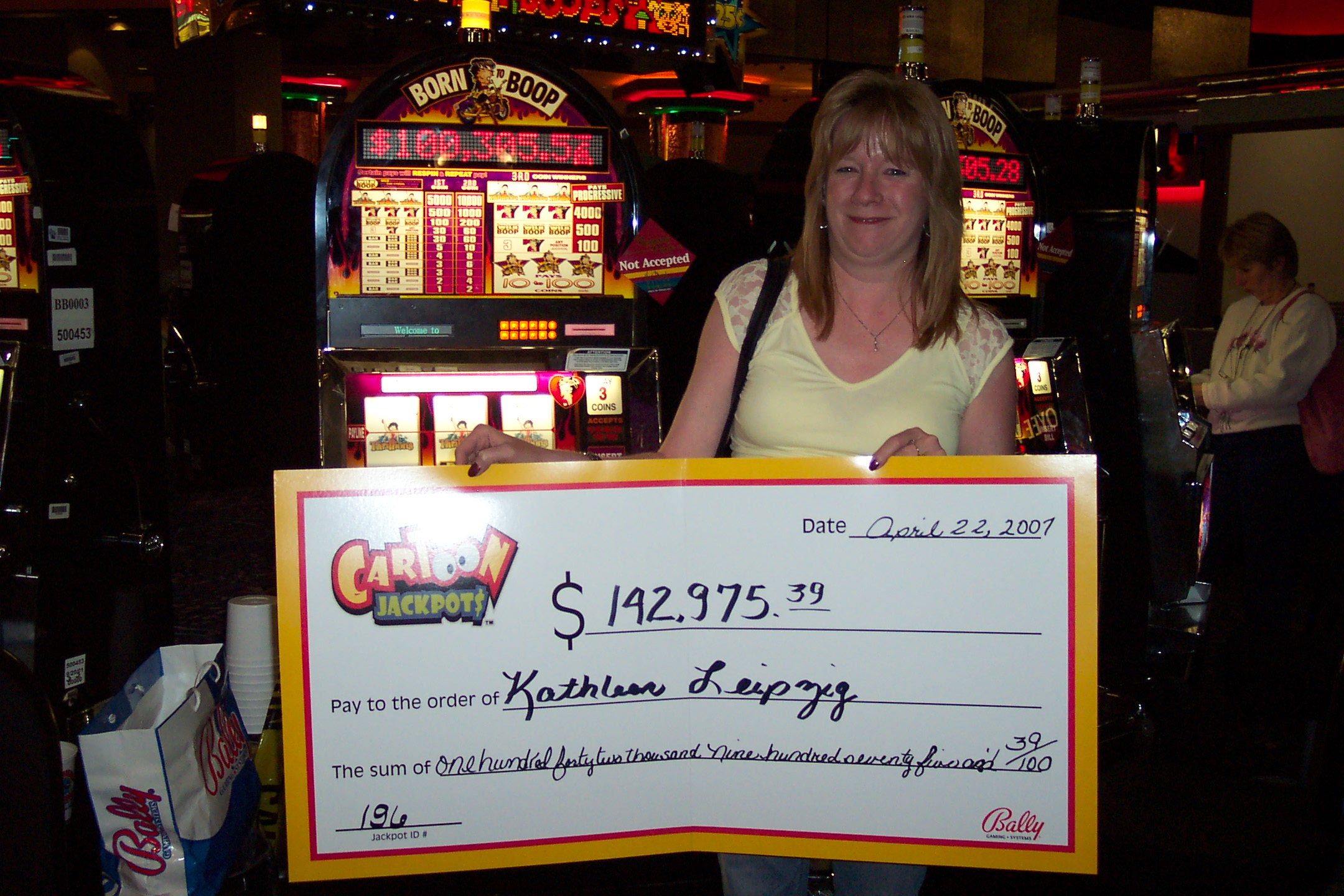 progressive jackpot winners